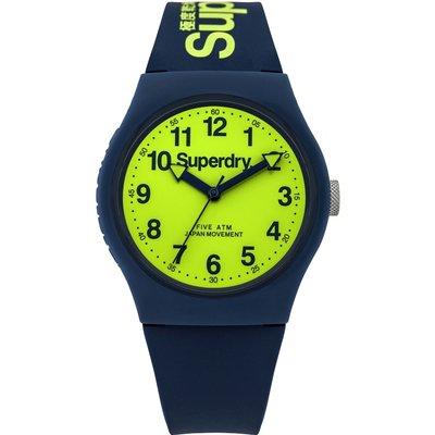 Superdry Unisex Urban Silicone Strap Watch - 5054126572717