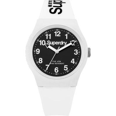 Superdry Unisex Urban Silicone Strap Watch - 5054126572670