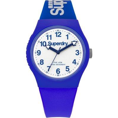 Superdry Unisex Urban Silicone Strap Watch - 5054126572694