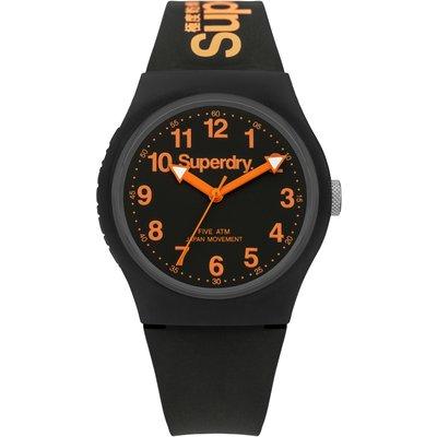 Superdry Unisex Urban Silicone Strap Watch - 5054126572687