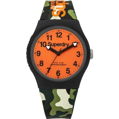 Superdry Unisex Urban Silicone Strap Watch - 5054126572700