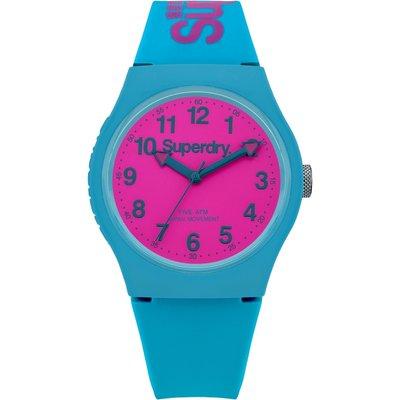 Superdry Unisex Urban Silicone Strap Watch - 5024693125982