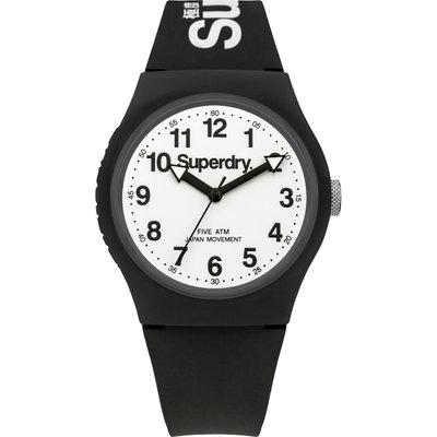 Superdry Unisex Urban Silicone Strap Watch - 5024693127306