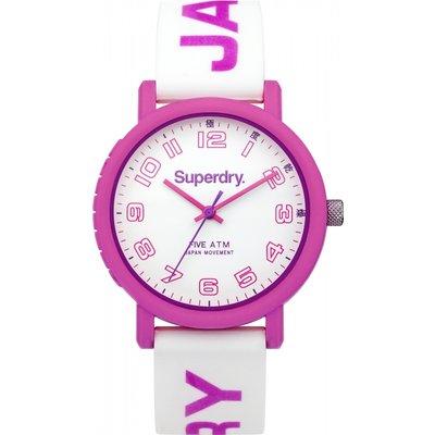 Superdry Women s Campus Silicone Strap Watch - 5024693133802