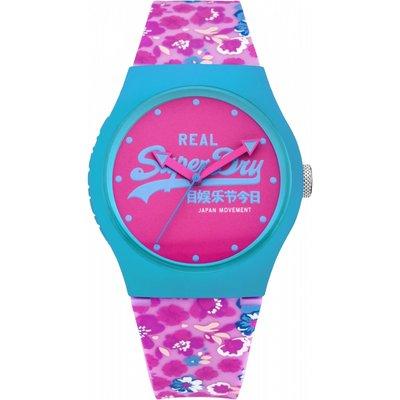 Ladies Superdry URBAN FLORAL Watch - 5024693137145