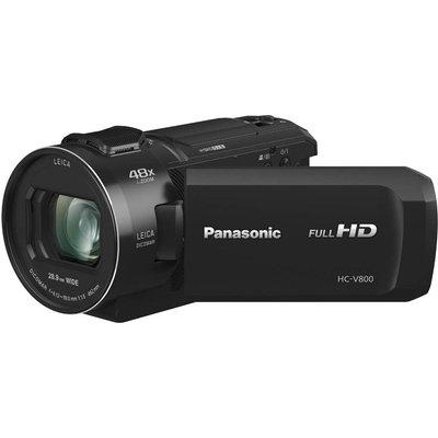 Panasonic HC V800EB Full HD Video Camera   Black - 5025232877782