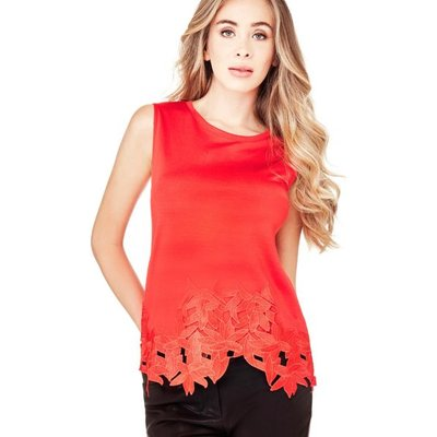 Marciano Guess Marciano Lace Hem Top