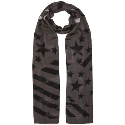Guess Casual Country Flag Print Scarf - 7613359186450