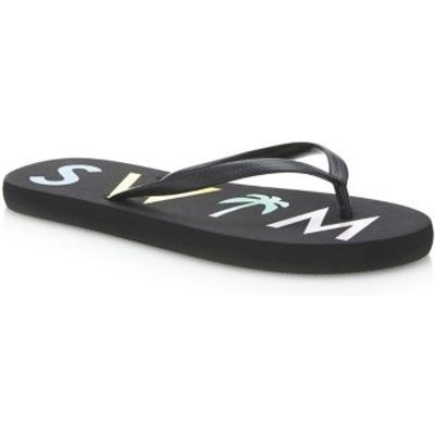 Guess Flip-Flops With Print