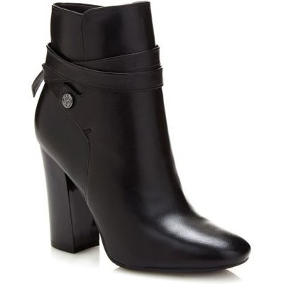 Guess Lundy Leather Ankle Boot