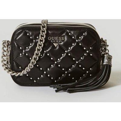 Guess Ariel Leather Crossbody Bag