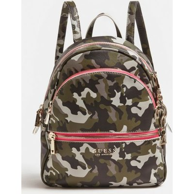 Guess Manhattan Large Camouflage Backpack