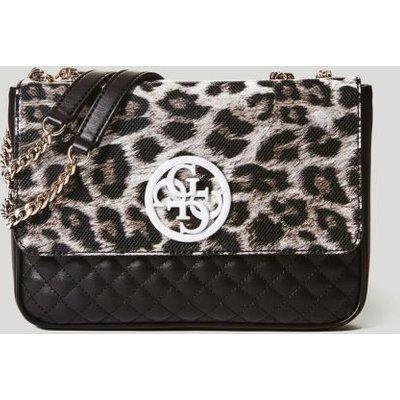 Guess Ryann Lux Animalier Crossbody Bag