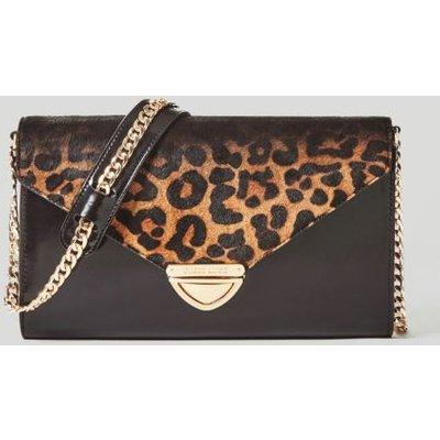Guess Mia Ponyskin Leather Crossbody Bag