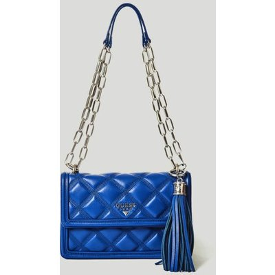 Guess Sandy Leather Crossbody Bag