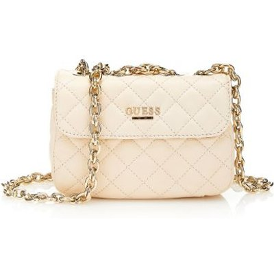 Guess Suave Small Leather Bag - 7613332313491
