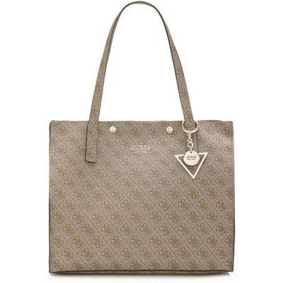 Guess Kinley Logo Bag, Brown