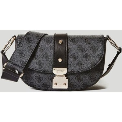 a647ae6c04 190231140436  Guess Florence Logo Crossbody Bag