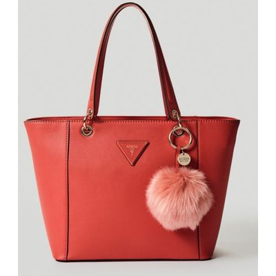 Guess Kamryn Shopper With Pompom Charm