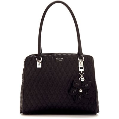 Guess Sibyl Quilted-Look Bag, Black