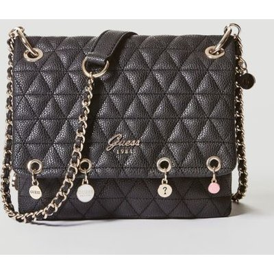 Guess Fleur Quilted-Look Crossbody Bag