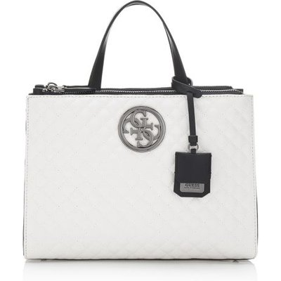 Guess G Lux Quilted-Look Bag, White
