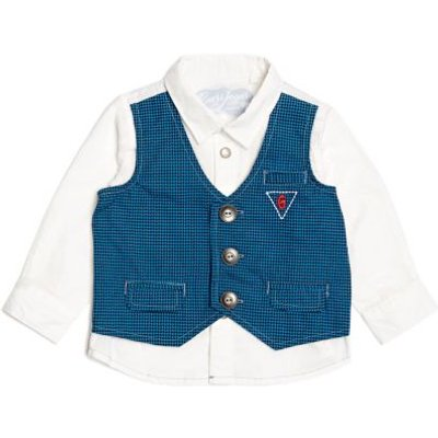 Guess Kids Shirt With Waistcoat