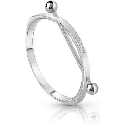 Guess Influencer Rigid Bracelet, Silver