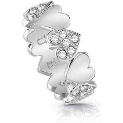 Guess Heart Bouquet Ring