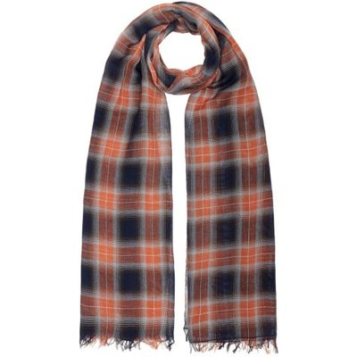 Guess Check Print Scarf - 7613359167107
