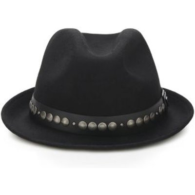 Guess Wool Hat With Studs - 7613359537719