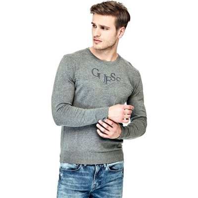 Guess Sweater With Logo On The Front