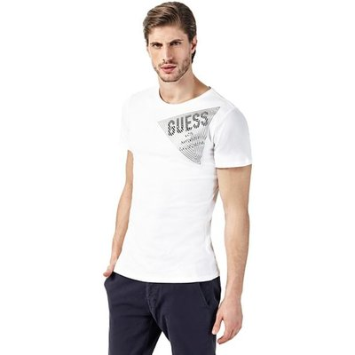 Guess T-Shirt With Logo Triangle