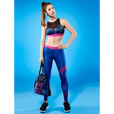Guess Nature Print Sports Bra