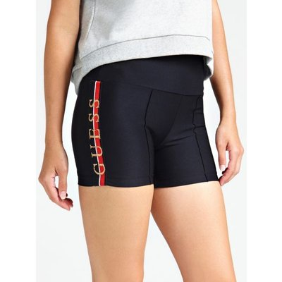 Guess Shorts With Logo Embroidery