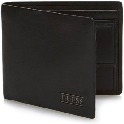 Guess New Boston Leather Wallet - 7613359181479