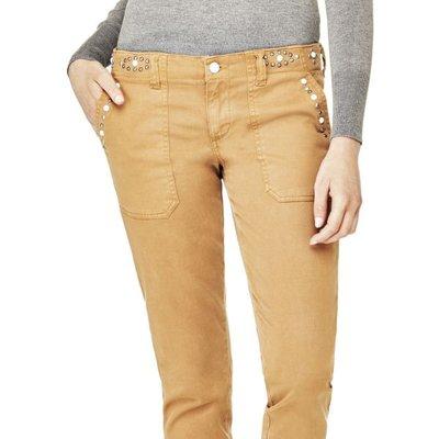 Guess Regular Pants With Rhinestones