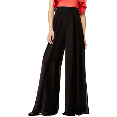 Guess Wide Pants With Side Buckles