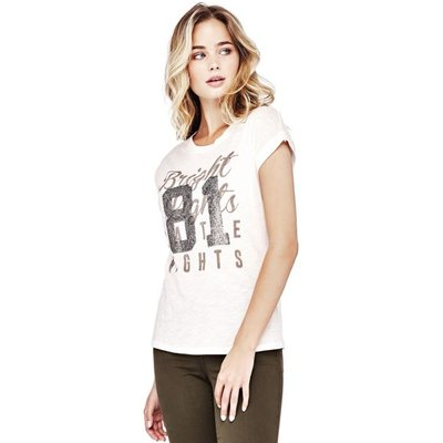 Guess T-Shirt With Print On The Front