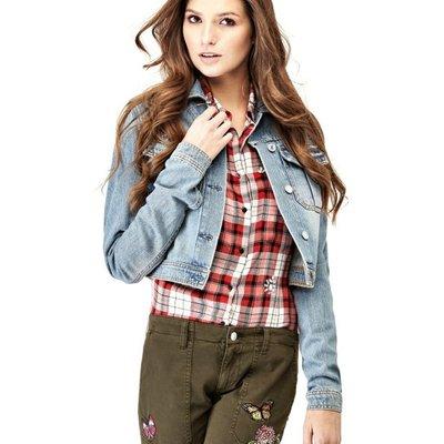 Guess Cotton Denim Jacket