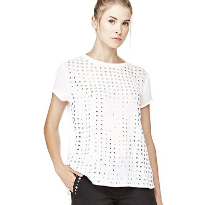 Guess Top With Paillettes On The Front