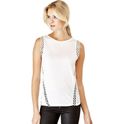 Guess Top With Metal Holes