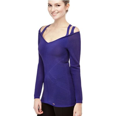 Guess Boat Neck Top With Straps