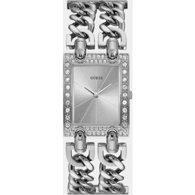 Guess Stainless Steel Chain Watch