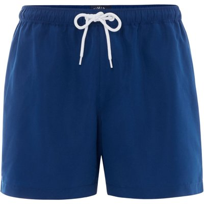 Men's Criminal Plain Swim Shorts, Blue
