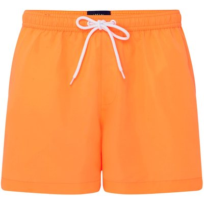 Men's Criminal Plain Swim Shorts, Orange