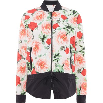 Guess Floral wind sport jacket, Multi-Coloured