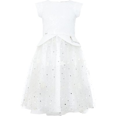 Disney The Boutique Collection Girls Cinderella Sequin And Glitter Star Dress, White