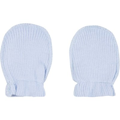 Absorba Newborn Essential Mitten, Light Blue