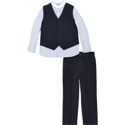 Monsoon Boys Albert 3 Piece Set, Blue